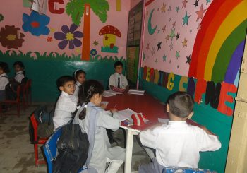 About 25 Students Enrolled in Class Nursery